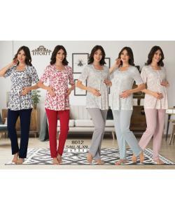 Effortt 8012 Lohusa Pijama Takım